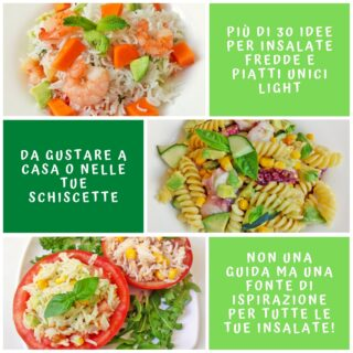 30 Idee per Insalate Fredde e Piatti Unici Light