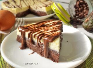 Brownie Cheesecake Light Chetogenica Senza Zucchero