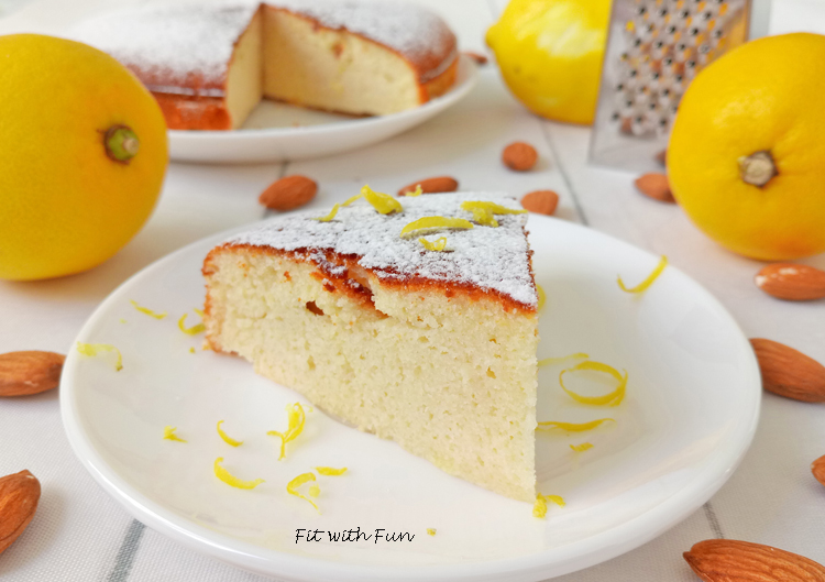 Caprese al Limone Senza Zucchero e Senza Glutine