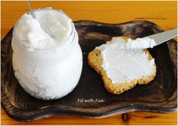 Crema Spalmabile Bianca 100% Cocco Vegan e Senza Glutine