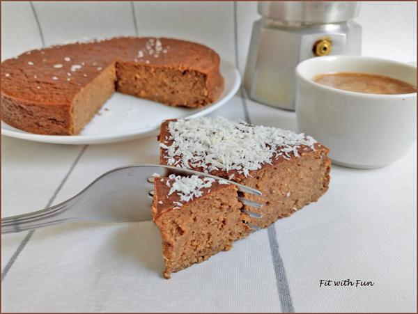 Torta Proteica e Fondente Cocco e Caffè