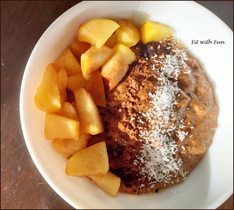 Porridge di Basmati e Latte di Cocco