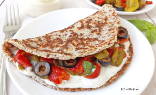 Piadina Chetogenica Low Carb e Senza Glutine