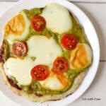 Pizza Light di Cavolfiore Senza Uova e Farina