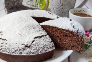 Torta Ricotta Cacao Avena Senza Zucchero
