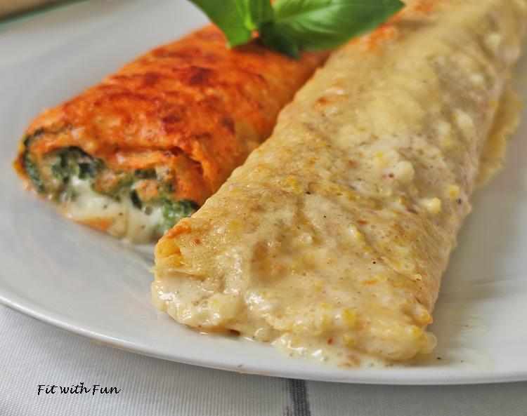 Ricetta Omelette Ricotta E Spinaci.Crespelle Ricotta Spinaci E Besciamella Proteiche Low Carb