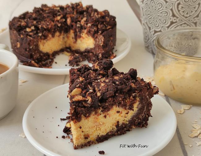 Sbriciolata Fit e Light Cacao e Crema Pasticcera