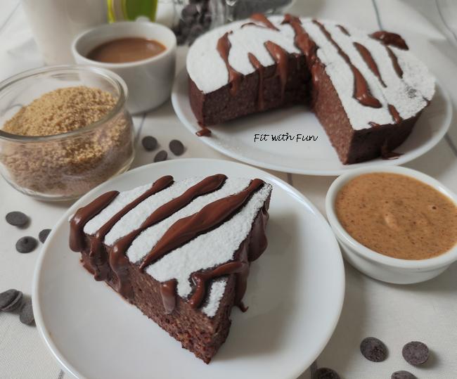 Torta Light e Proteica Cous Cous e Cacao