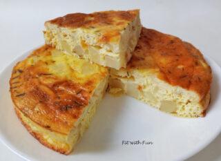 Tortilla Spagnola Frittata Light di Patate