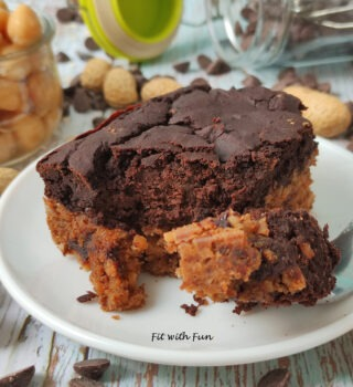 Brookies (Brownies e Cookies) Vegan e Proteici