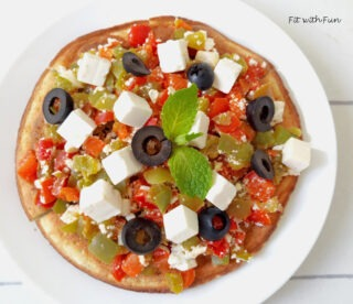Pizza Veloce in Padella 3 Ingredienti Low Carb