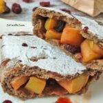 Calzone Torta di Mele Fit Vegan Senza Glutine