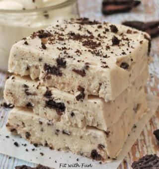 Oreo e Cocco Cheesecake Barrette Gelato Proteiche Low Carb