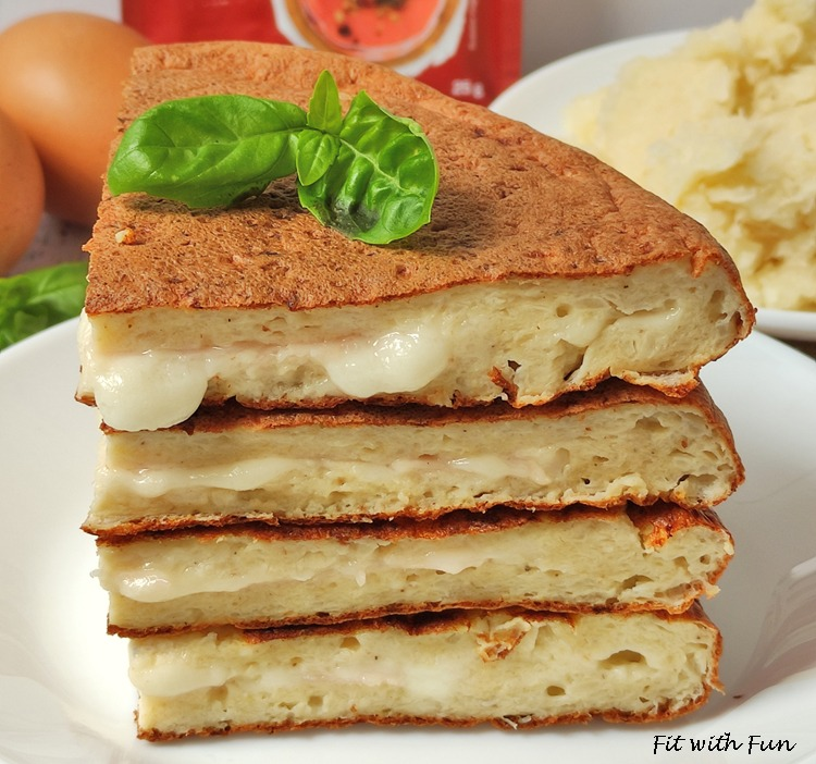 Torta Salata di Cavolfiore in Padella Light e Proteica