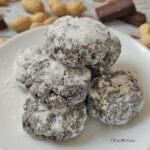 Biscotti Cacao e Arachidi 4 Ingredienti Keto e Senza Glutine