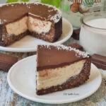 Bounty Cheesecake Cocco e Cioccolato Fit Light e Senza Zucchero