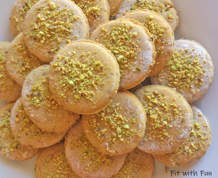 Biscotti Pistacchi e Lime 4 Ingredienti Vegan Proteici Senza Glutine