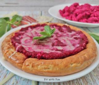 Pizza Pancake di Mozzarella in Padella Super Proteica